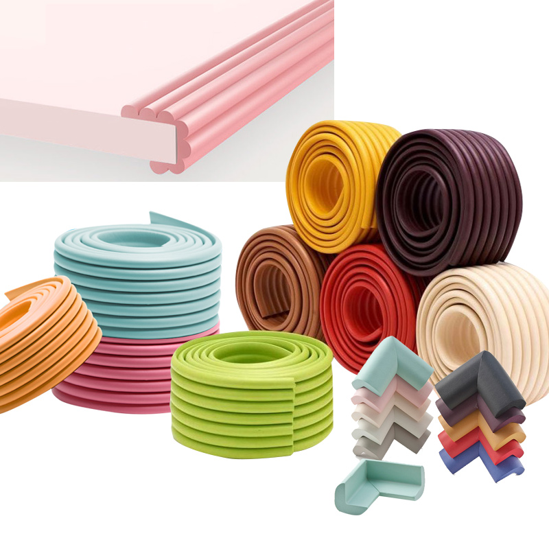 2M Baby Safety Protection From Children Strip Table Desk Edge Guard Strip Corner Protector Kid Furniture Corners Foam Protection