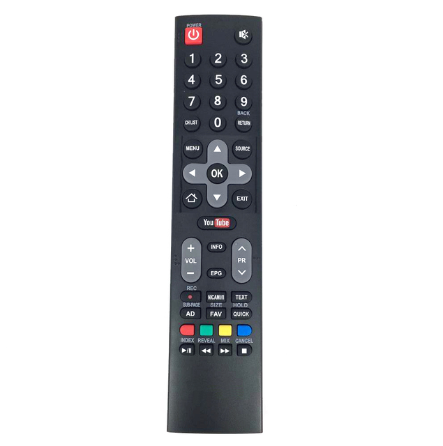 Nowy oryginalny pilot zdalnego sterowania dla Skyworth LCD LED Smart TV z dostępem do platformy Netflix aplikacji Youtube, HOF16J234GPD12