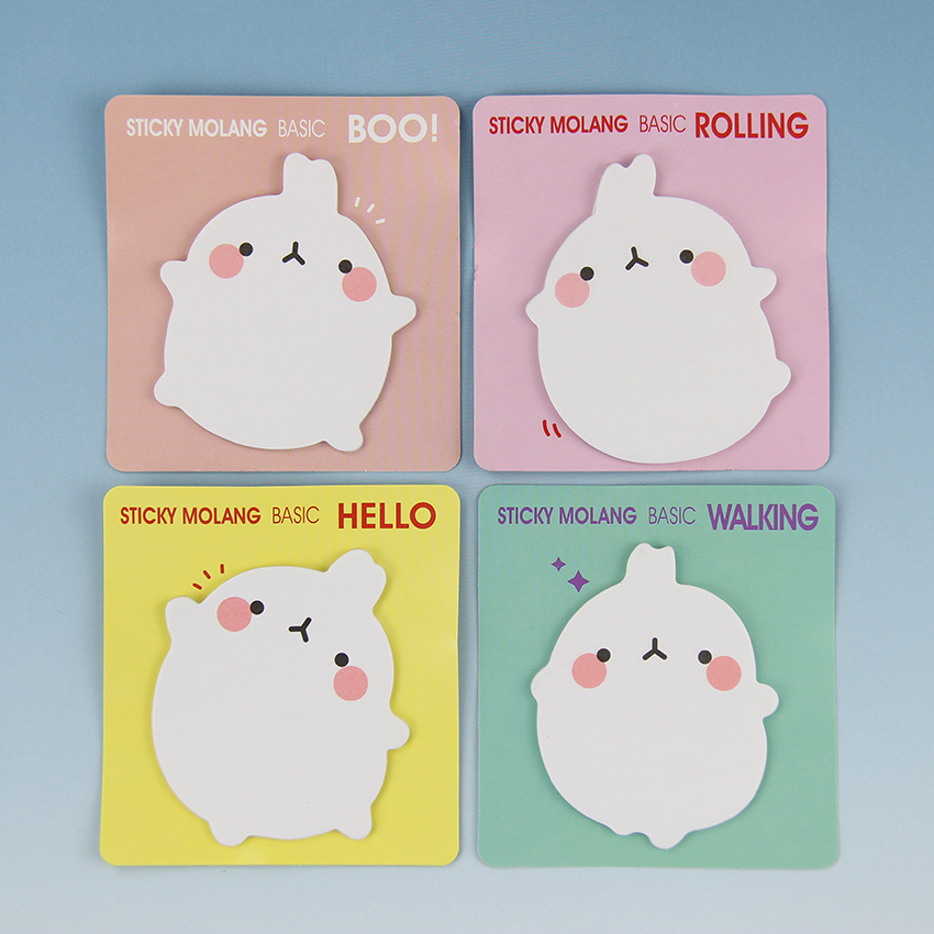Cute  Rabbit Self Adhesive Memo Pad Sticky Notes Sticker Label Escolar Papelaria School Office Supply 1PC