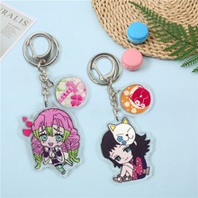 Keychain Anime Cartoon Pendant Schoolbag-Accessories Holiday-Gifts Role-Playing Character
