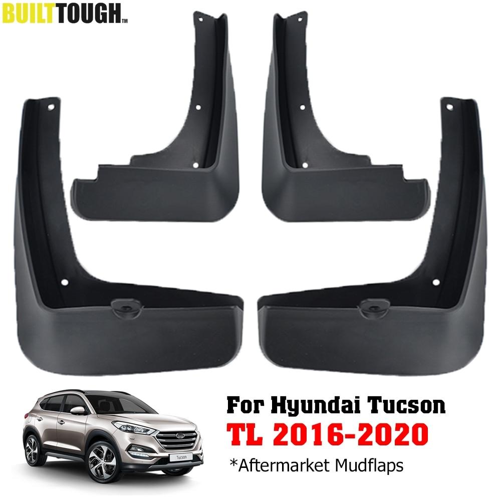 New 4pcs Mud Flaps Splash Guards Fender Mudguard Mud Guards Mudflaps for Hyundai Tucson 2015 2016 2017 2018 2019 2020