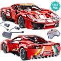 Super Sport Racing Auto Bausteine Geschwindigkeit Fahrzeug Simulation Modell Ziegel Spielzeug Geburtstag Geschenk Für Freund