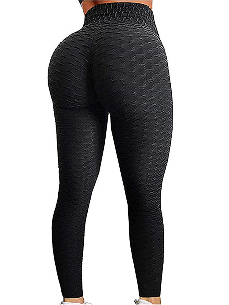 Leggings Women Fitness Push-Up Anti-Cellulite Black Sexy Girl High-Waist
