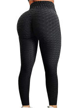 Leggings femme Leggings Fitness taille haute Leggings Anti Cellulite entraînement Sexy jegging noir Modis Sportleggings(China)