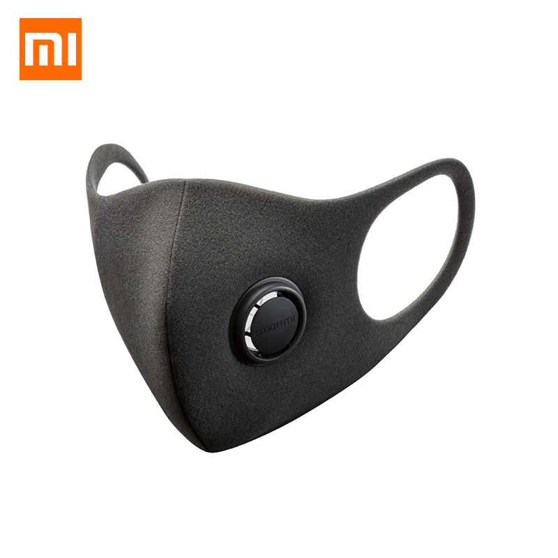 In Stock Xiaomi SmartMi PM2.5 Haze Mask Purely Anti-haze Face Mask Adjustable Ear Hanging Fashion 3D Design Light Breathing Mask