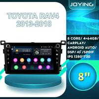 Car Products Android Radio Auto Stereo Carplay 4G Accessories For TOYOTA RAV4 RAV 4 2013 2018 GPS Navigation Multimedia Player