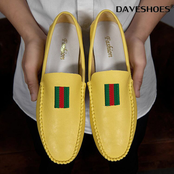 Spring Summer NEW Men's Loafers Comfortable Flat Casual Shoes Men Breathable Slip-On Soft Leather Driving Shoes Moccasins heinrich new style design flat men luxury loafer shoes casual breathable slip on driving shoes chaussure de securite pour homme