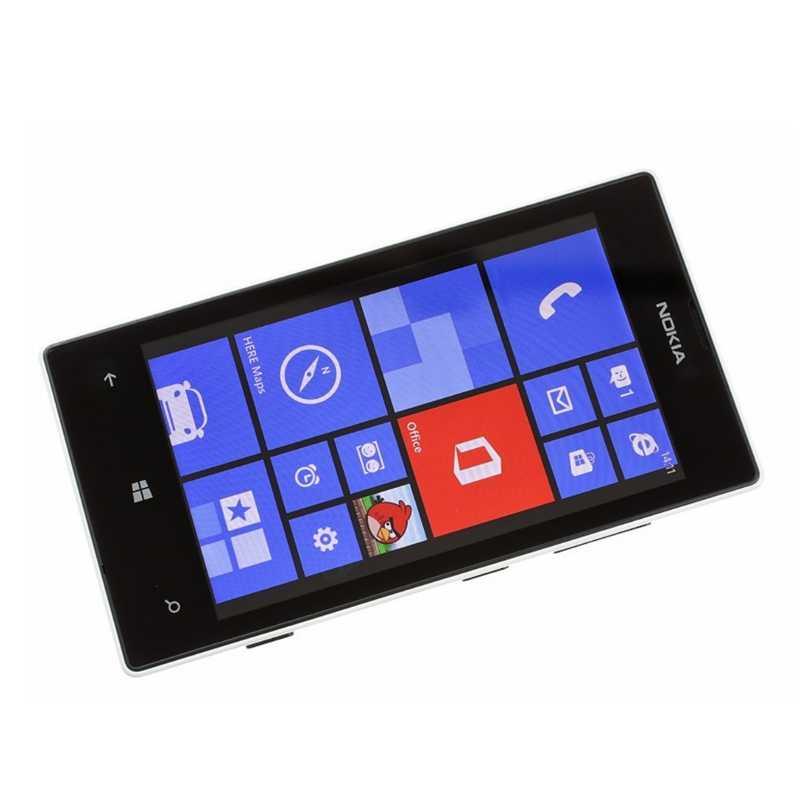 """Nokia Lumia 520 téléphone portable d'origine double coeur 3G WIFI GPS 4.0 """"5MP 8GB Nokia 520 reconditionné Windows téléphone portable débloqué"""