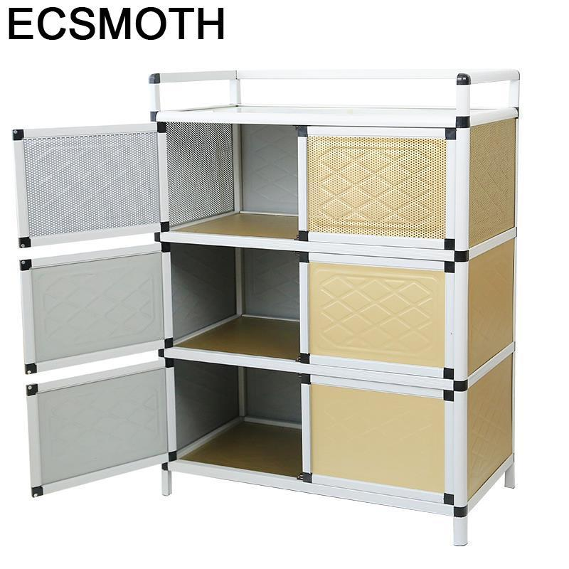 Mueble Tea Capbords Aparadores Sideboard For Room End Tables Kitchen Furniture Meuble Buffet Aluminum Alloy Cabinet Cupboard