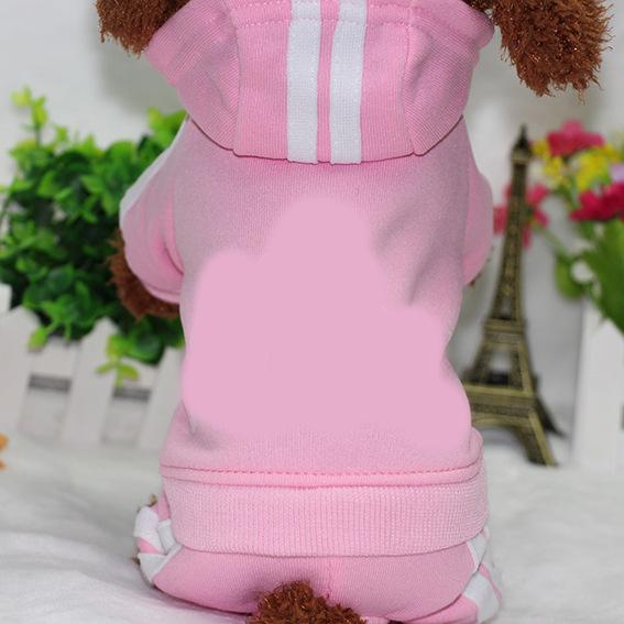 PUOUPUOU Winter Warm Pet Dog Clothes Hoodies Sweatshirt for Small Medium Dogs French Bulldog Sweet Puppy Dog Clothing XS-XXL 3