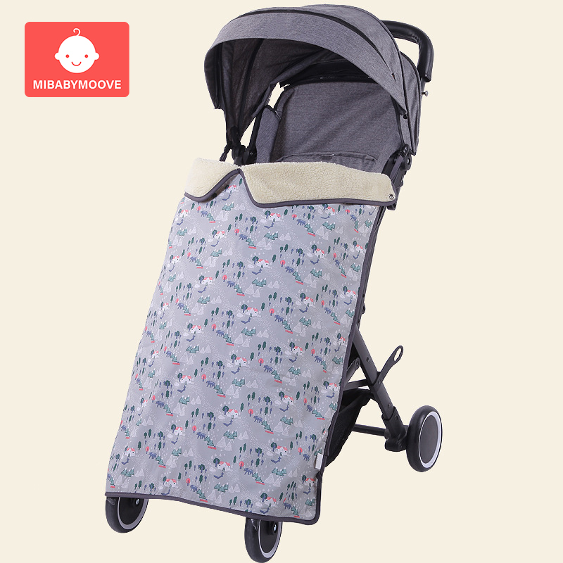 Baby Blanket Winter Soft Newborn Blanket Quilted Thickend Windproof Sleeping Swaddle Wrap For Baby Carriage Stroller Cart Pram