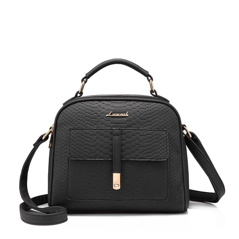 YJF Womens Vintage PU Leather Tote Shoulder Bag Handbag Upgraded Version