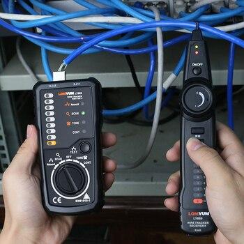 LOMVUM Draht Tracker RJ45 RJ11 Kabel Detektor Linie Finder für Ethernet LAN Netzwerk Kabel/Telefon Draht Tester Überprüfung