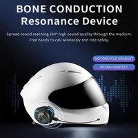 PGDM 헬멧 헤드셋 뼈 전도 블루투스 무선 스테레오 핸즈프리 IP68 방수 비 방수 오토바이 헬멧 헤드폰