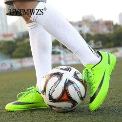 Chuteira Futebol Superfly HYFMWZS Interior Respirável de Alta Qualidade Homens Baratos Chuteiras Superfly Original TF Botas de Futebol Crianças
