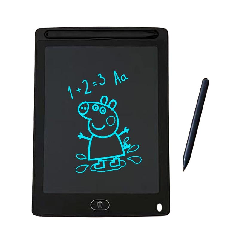 8.5 Polegada lcd escrita tablet desenho gráfico comprimidos eletrônico digital placa de desenho escrita desenho almofada placa + caneta