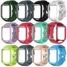 Pasek do zegarka TPE dla TOMTOM Runner 2 3 Spark / 3 Glfer 2 zegarek GPS dla poszukiwaczy przygód 11 kolorów wymiana od zegarków