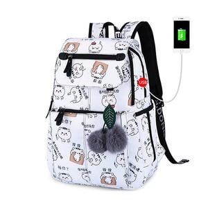 School Bags for Girls Female L