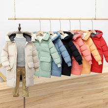 Fshion Smiley płaszcz dziecięcy chłopcy bawełniany płaszcz zimowy z kapturem gruba długa kurtka aby utrzymać ciepło duzi chłopcy kurtka z podszewką 4-14yrs tanie tanio Octan COTTON Dół Poliester 0 65 CN (pochodzenie) Na co dzień Stałe REGULAR Fur collar coat Kurtki płaszcze zipper