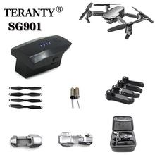Origianl 3 7 V drony bateria do SG901 5G GPS składany dron części zamienne 1s 3 7 v 2200 mAh bateria litowa do SG-901 cheap PYLRC CN (pochodzenie) for SG901 Drone Battery Lithium Battery