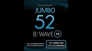 2021 przez dom kruka | 52 B #8217 Wave Jumbo 2 0 przez Vernet Magic | A B C przez Wayne Dobson magiczne sztuczki tanie i dobre opinie Magic instruction (No prop) CN (pochodzenie) 12 + y Unisex Jeden rozmiar Online instruction Nauka ŁATWE DO WYKONANIA Beginner