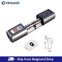 L5SR WELOCK Bluetooth Smart Lock Elektronische Zylinder Outdoor Wasserdicht Biometrische Fingerprint Scanner Keyless Türschlösser