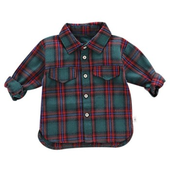 Autumn Boys Blouse Shirt Baby Boys Clothes Men Shirts Long Sleeve Plaid Print Shirts Kids Tops Tees Shirts Casual Blouse Spring kids baby boys clothes casual cotton children clothing for kids boys shirts fashion new spring plaid long sleeve shirts for boys