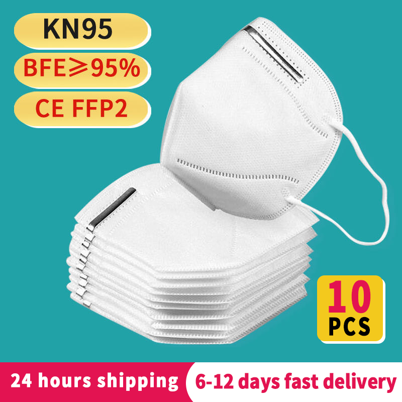 Fast Delivery Kn95   Respirator Mask  Breathable Face Masks  95% Filtration Features