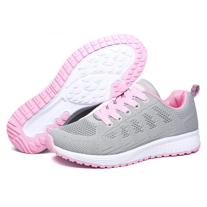 Women Casual Sneakers Fashionable Vulcanize Shoes Platform Spring Running Sport Sneakers Breathable Tennis Air Large Size Shoes 6