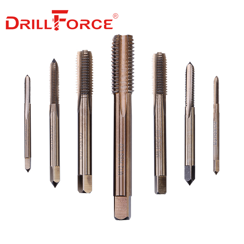 1 of M3 x 0.5mm HSS Spiral Cobalt Right hand Thread Tap for Stainless Steel