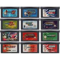32 بت لعبة فيديو خرطوشة بطاقة وحدة التحكم لنينتندو GBA ميجا مان اللغة الإنجليزية الطبعة