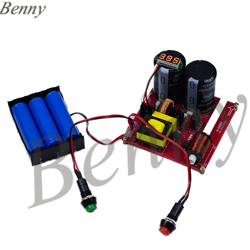Electromagnetic Gun Finished Product Diy Kit High Voltage Coil Physical Electricity Experiment Equipment