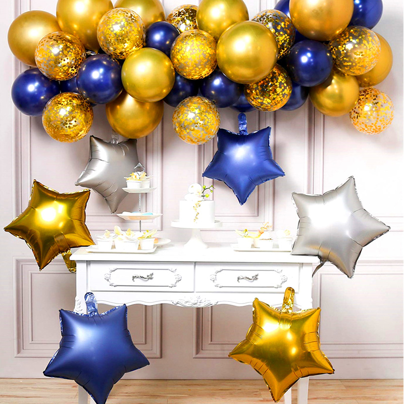 10 Inch Star Balloon Inflatable Helium Baloon Wedding Birthday Christmas Party Decoration Globos Children Toy Gifts