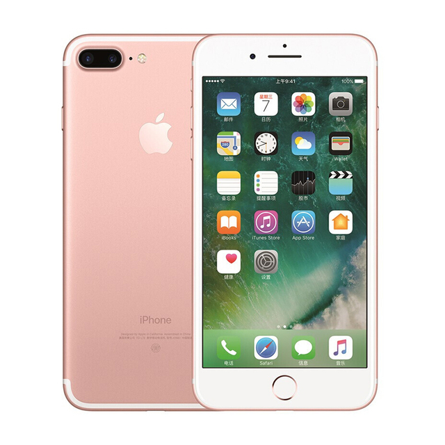 Unlocked Apple iPhone 7 Plus 3GB RAM 32/128GB IOS CellPhone LTE 12.0MP Camera Apple Quad-Core Fingerprint 12MP 2910mA(95% new)