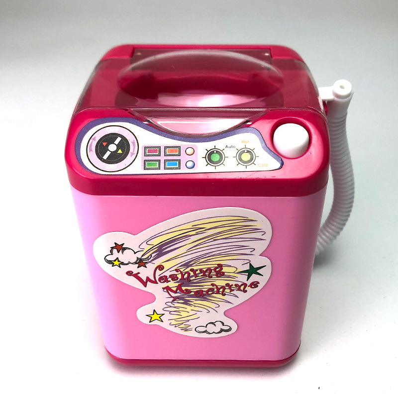 Original Barbie Washing Machine House For Barbie Doll Furniture Miniatures Accessories Dolls Home Princess Parts Decorations Toy