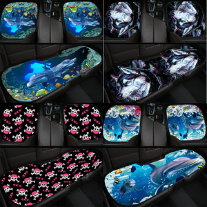 Car seat marine animals, wolves. 3D printing cushion car for most protection automotive supplies cover