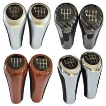 5 Speed 6 Gear Shift Knob Head Stick Shifter Lever For BMW 1 3 5 6 7 Series E90 E91 E92 E93 E30 E36 E46 F30 Z4 E85 E86 X5 E53 X6