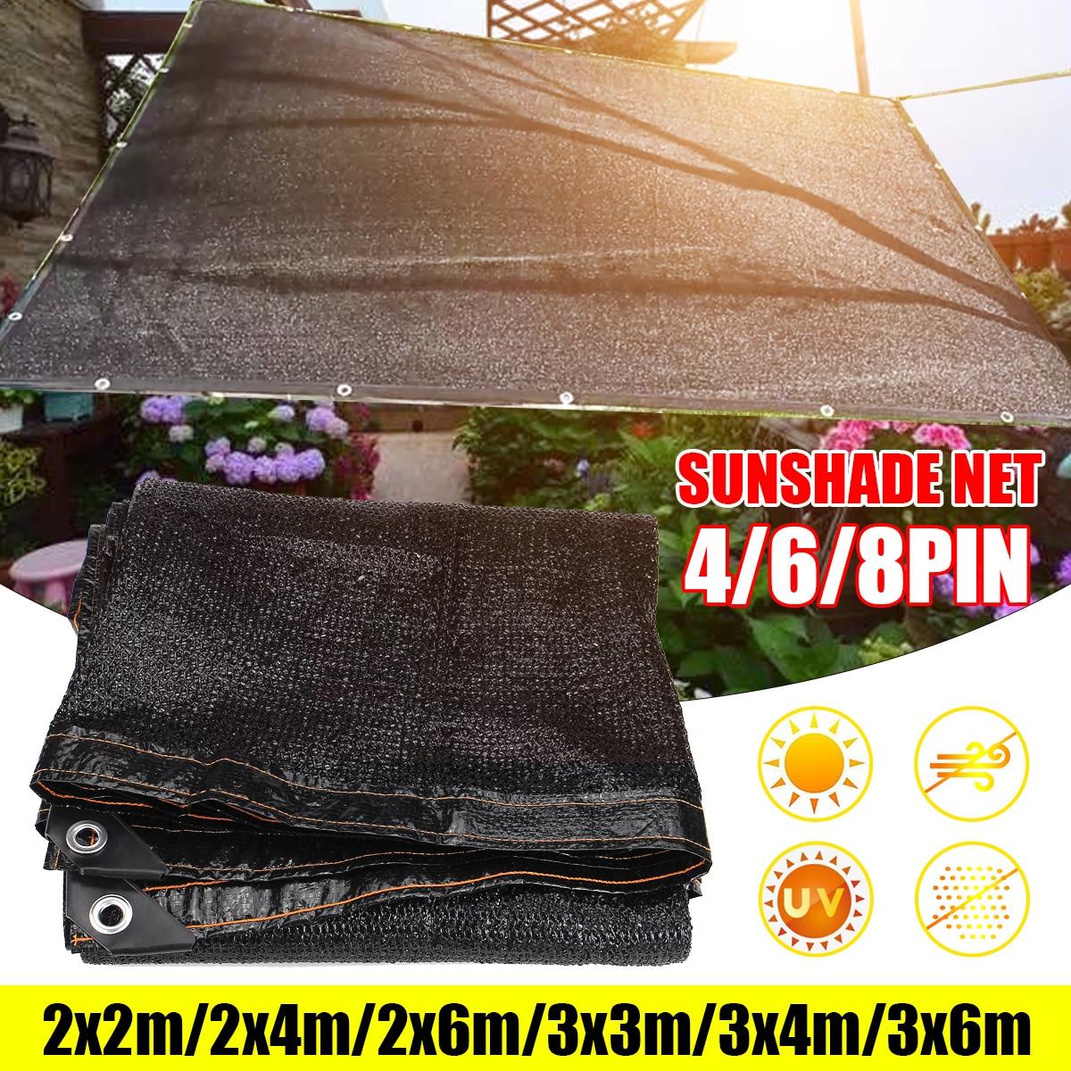 Sunshade Net Anti-UV 85% Shading Rate Outdoor Garden Sunscreen Sunblock Shade Cloth Net  Plant Greenhouse Car Cover