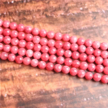 Fashion jewelry 4/6/8/10 / 12mm Rhodochrosite, suitable for making jewelry DIY bracelet necklace