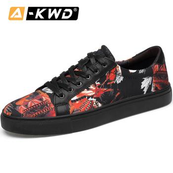 Casualowe buty sportowe męskie oddychające buty męskie męskie skórzane buty Heren Schoenen Leer moda luksusowe męskie buty o niskiej najlepszych męskie obuwie tanie i dobre opinie AI-KWD Prawdziwej skóry Skóra bydlęca Gumowe Wiosna jesień Płótno Dla dorosłych 20199973 heren schoenen mocasines de hombre piergitar