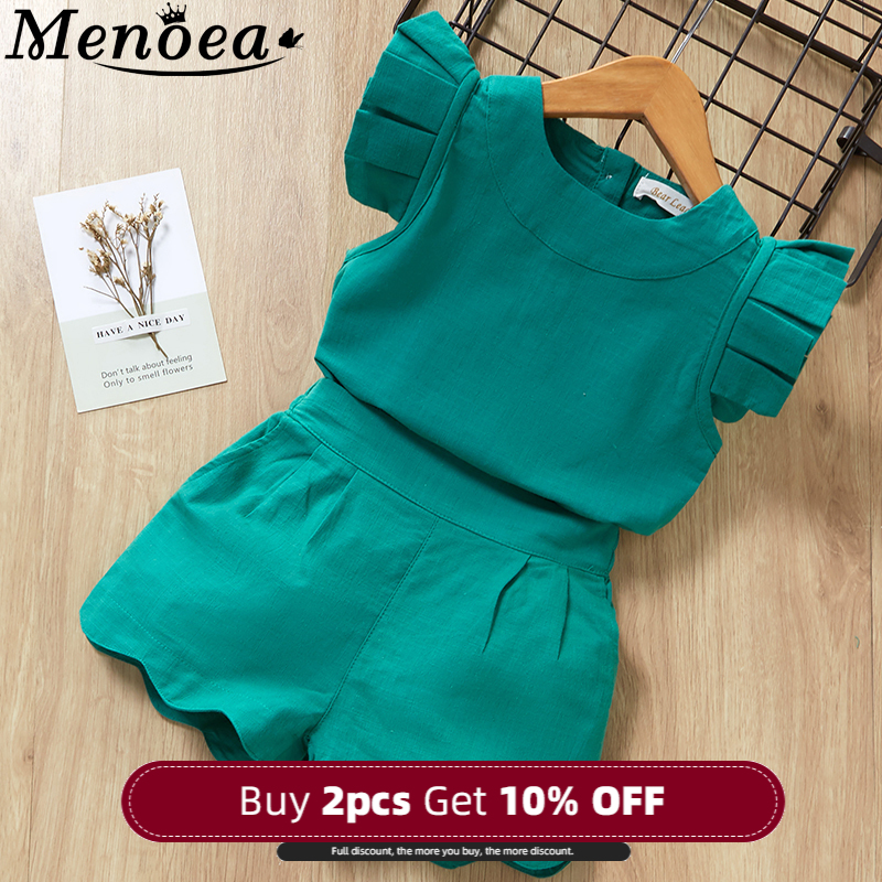 Kids Girls Clothing Sets Summer New Style Brand  Baby Girls Clothes short Sleeve T-Shirt+Pant Dress 2Pcs Children Clothes Suits 1