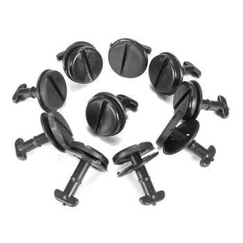 10Pcs Car Floor Mat Fastener Clip Carpet Rivet Retainer Car Accessories image