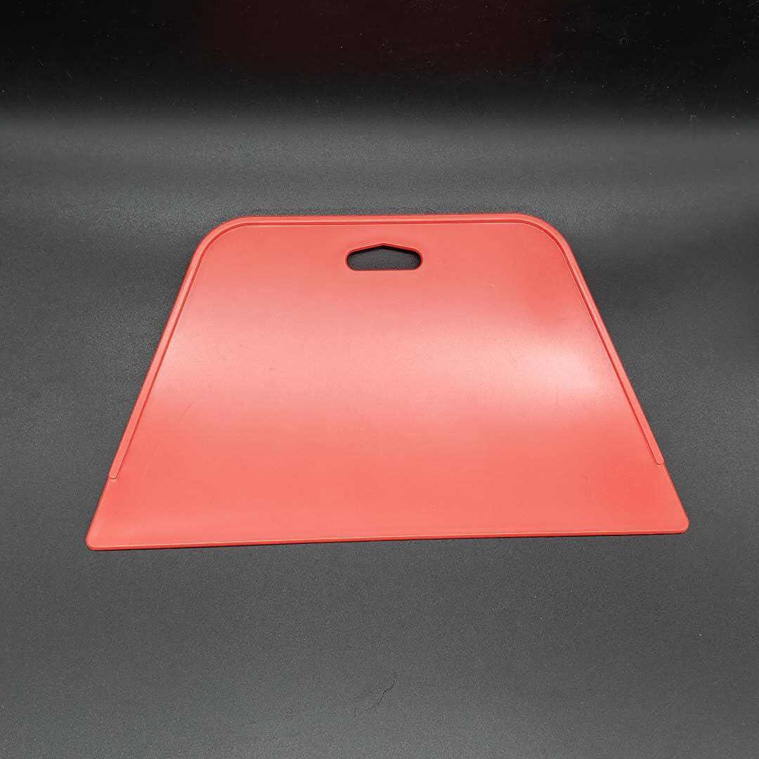 Los fabricantes venden directamente papel pintado de plástico de Material nuevo de alta calidad solo rascador rojo grueso Extra grande herramienta trapezoidal