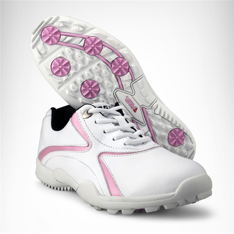 Pgm marca feminina sapatos de golfe de
