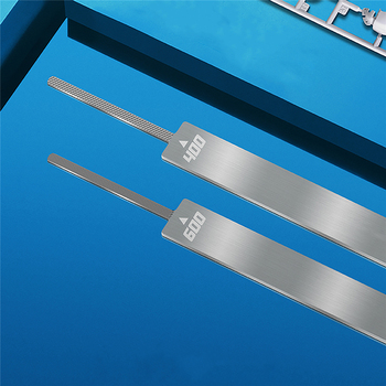 Stainless Steel Double Side Twill File Model Tool Set 400-1000# T05F05 Hobby Craft Model Tool image