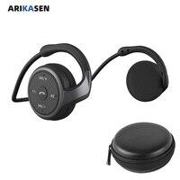 Cuffie senza fili Lettore MP3 auricolare Senza Fili di Bluetooth di musica auricolare portatile di sport MP3 Lettore walkman cuffie per il Telefono