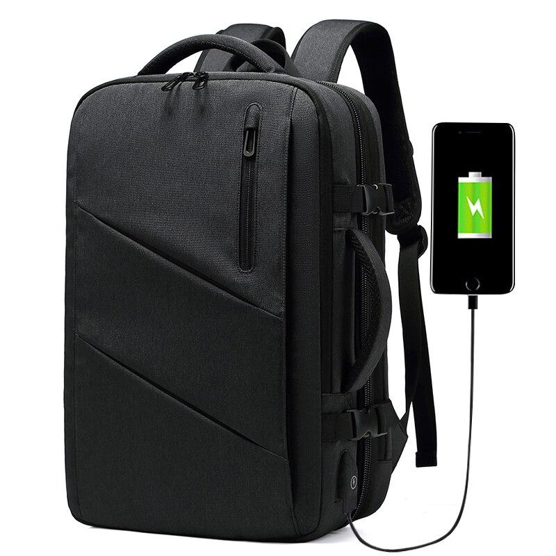 smart travel waterproof anti theft school usb charger laptop men bags usb backpack