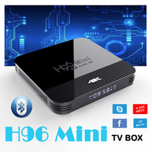 H96 TV Box Android 9.0 RK32288 Quad core Wifi 4K h96 mini 2GB 16GB décodeur films 3D Google Assistant vocal Netflix Youtube(China)