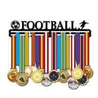 Metall Stahl Medaille Halter Medaille Kleiderbügel Display Rack Ideal Geschenk für Laufende Sport Edelstahl Medaille Halter Sport 406mm * 158mm