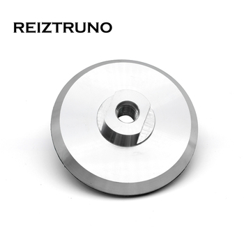 Reiztruno 3/4/5/6 Aluminum Backer Pads M14 5/8-11 Thread Holder Pad For surface or straight edge polishing 1pc